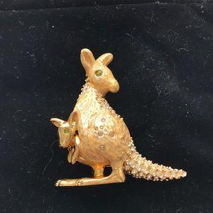 NWOT Rare St John Kangaroo Pin